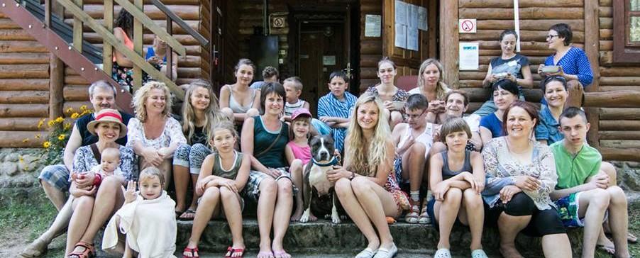 Nora Budulis ir vaikai